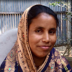 Ismat Ara Begum is currently the member secretary of the VWC in Bhaluka sub-district