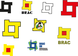 Older versions of the BRAC logo