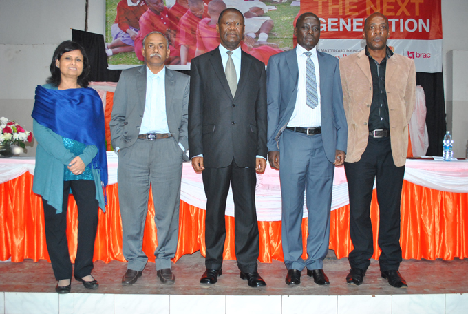 Delegates and BRAC officials at the Leadership Congress 2014