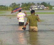 Microfinance programme organisers reaching clients through the submerged lands