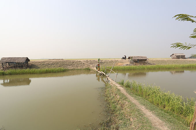 Sutarkhali- where villages are surrounded by saline waters around the year.