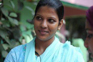 """One must have a sympathetic nature and be able to mix well with the people,"" says Roashin Naila Chaudhury, BRAC WASH junior field officer in Chittagong."