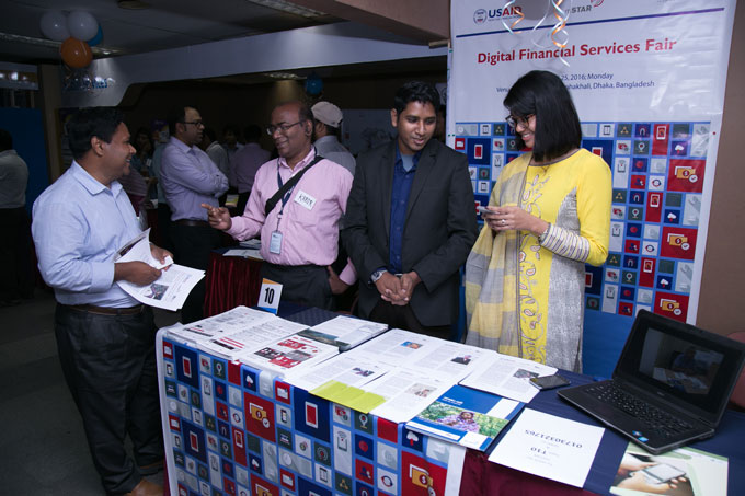 Along with the event, a fair on digital financial services created a buzz among the participants.