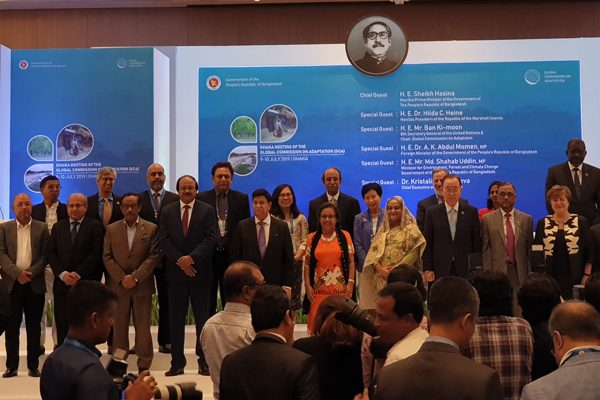 BRAC at the Dhaka meeting of Global Commission on Adaptation