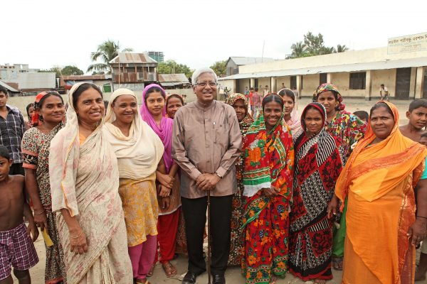 A letter from Sir Fazle for International Women's Day