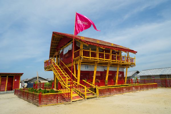 A classroom in the sky: Building upwards in the Rohingya camps